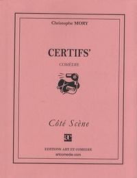 Christophe Mory - Certifs'.