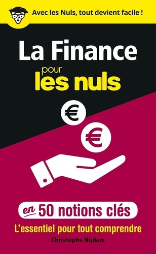 La finance pour les nuls en 50 notions clés - Format ePub - 9782412047569 - 6,99 €