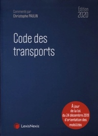 Christophe Paulin - Code des transports.