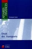 Christophe Paulin - Droit des transports.