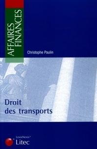 Droit des transports - Christophe Paulin | Showmesound.org