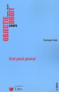 Christophe Paulin - Droit pénal général.