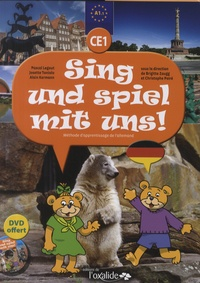 Christophe Poiré et Brigitte Zaugg - Allemand CE1 Sing und spiel mit uns ! Niveau A1.1 - Méthode d'apprentissage de l'allemand. 1 DVD