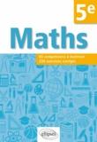 Christophe Poulain - Mathématiques 5e - Compétences et exercices corrigés.