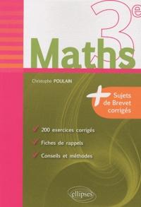 Maths 3e - Fiches de rappel - Exercices et annales de brevet corrigés.pdf