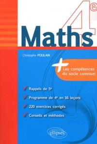 Maths 4e - Christophe Poulain | Showmesound.org