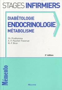Christophe Prudhomme et Marie-France Brun - Diabétologie, endocrinologie, métabolisme.