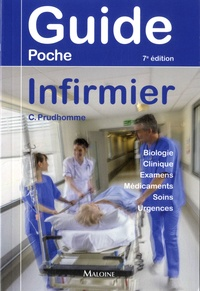 Christophe Prudhomme - Guide poche infirmier.