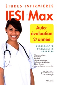 Christophe Prudhomme et Chantal Jeanmougin - IFSI Max autoévaluation 2e année - Etudes infirmières.