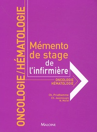 Christophe Prudhomme et Chantal Jeanmougin - Oncologie-hématologie.