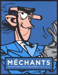 Christophe Quillien - Méchants, crapules et autres vilains de la bande dessinée - Couverture Zorglub.