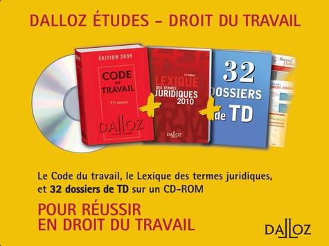 Christophe Radé - Code du travail 2009 - Avec un CD Rom Droit du travail 2009-2010. 1 Cédérom