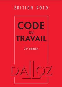 Christophe Radé - Code du travail 2010.