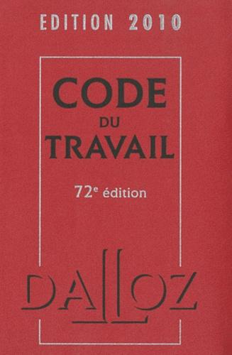 Christophe Radé et Caroline Dechristé - Code du travail 2010. 1 Cédérom