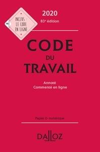 Christophe Radé - Code du travail 2020, annoté et commenté en ligne - 83e ed..