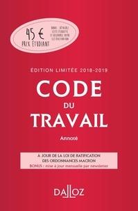 Christophe Radé et Caroline Dechristé - Code du travail.