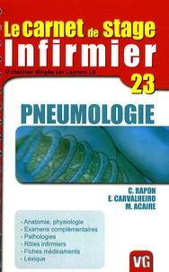 Christophe Rapon et E Carvalheiro - Pneumologie.