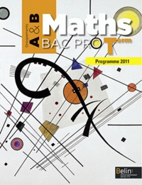Galabria.be Maths Tle Bac pro - Groupements A & B, programme 2011 Image