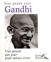 Christophe Rémond - Une année avec Gandhi - Une pensée par jour pour mieux vivre.