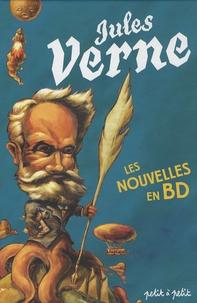Christophe Renault et François David - Les nouvelles de Jules Verne - En bandes dessinées.