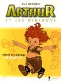 Christophe Rendu et Robert Cepo - Arthur et les Minimoys - Album de coloriage N° 3, Bétamèche.