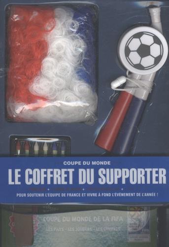 Christophe Rosson - Le coffret du supporter - 1 perruque, 1 corne de brume, 1 kit de maquillage et 1 livre officiel.