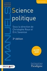 Christophe Roux et Eric Savarese - Science politique.