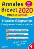 Christophe Saïsse - Histoire-Géo-EMC - Sujets et corrigés.