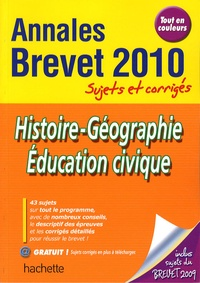 Christophe Saïsse - Histoire-Géographie Education civique 2010.