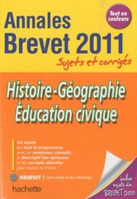 Histoire-Géographie-Education civique Brevet- Sujets et corrigés - Christophe Saïsse |