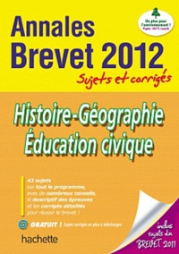 Christophe Saïsse - Histoire-Géographie, Education civique - Sujets et corrigés.