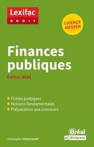 Christophe Sinnassamy - Finances publiques.