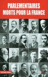 Cjtaboo.be Parlementaires morts pour la France - 1914-1918 Image