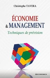 Christophe Tavéra - Economie & Management - Techniques de prévision.