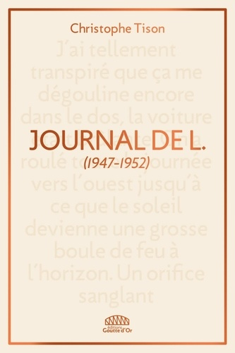 Journal de L.. (1947-1952)