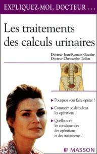 Checkpointfrance.fr Les traitements des calculs urinaires Image