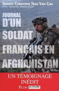 Christophe Tran van can et Nicolas Mingasson - Journal d'un soldat français en Afghanistan.