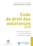 Christophe Verdure et Roland Bisenius - Code de droit des assurances.