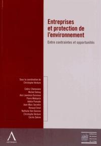 Christophe Verdure - Entreprises et protection de l'environnement - Entre contraintes et opportunités.