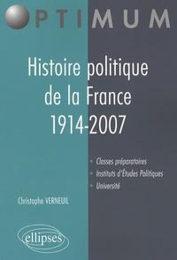 Feriasdhiver.fr Histoire politique de la France 1914-2007 Image