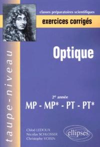 Optique MP, MP*, PT, PT* 2ème année - Christophe Voisin | Showmesound.org