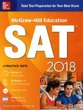Christopher Black et Mark Anestis - SAT 2018 - 4 practice tests.
