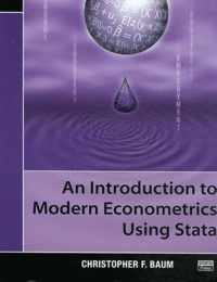 Deedr.fr An Introduction to Modern Econometrics Using Stata Image
