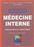 Christopher Haslett et Edwin-R Chilvers - Médecine interne Davidson - Principes et pratique.