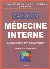 Histoiresdenlire.be Médecine interne Davidson - Principes et pratique Image