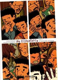 Christopher et Sylvain Runberg - Les Colocataires Tome 1 : Le quatrième passager.