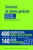 Christos Comninellis et Claude K. W. Friedli - Exercices de chimie générale.
