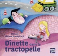 Christos et Mélanie Grandgirard - Dînette dans le tractopelle.