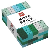 Chronicle Books - LEGO Note Brick - 224 note sheets (Blue-Green).