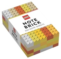 Chronicle Books - LEGO Note Brick - 224 note sheets (Yellow-Orange).